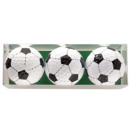 Tres bolas - motivo Futbol