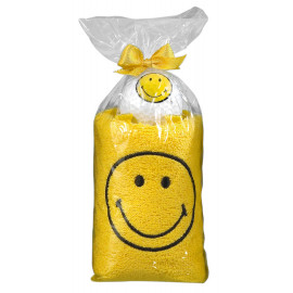 PACK TOALLAS SMILEY amarillo