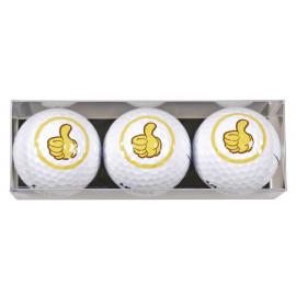 Tres bolas motivo OK